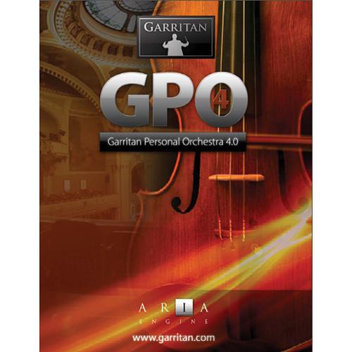 GARRITAN Personal Orchestra 4 - Virtual Instrument (Boxed)