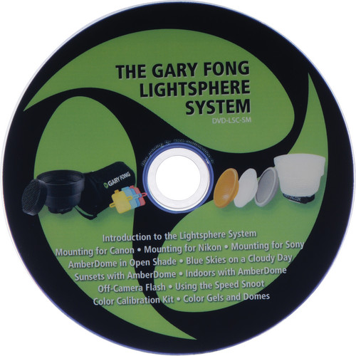 Gary Fong Lighting Tutorial DVD for Canon