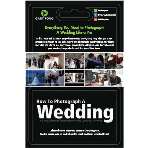 Gary Fong Online Course: How to Photograph a Wedding (Gift Card w/ Access Code)