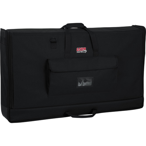 """Gator Cases Large Padded Nylon Carry Tote Bag for LCD Screens Between 27-45"""""""