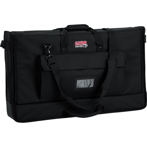 Gator Cases Medium Padded Nylon Carry Tote Bag for LCD Screens Between 27-32""