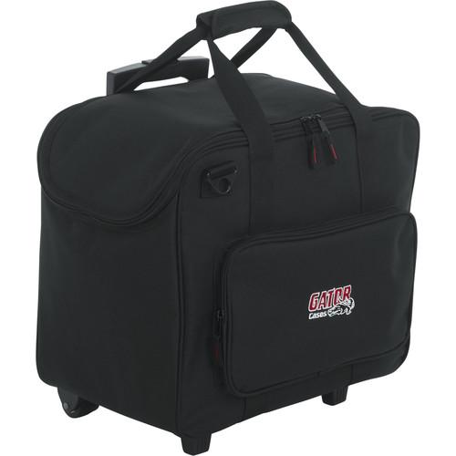 Gator 1610 Wheeled LED PAR Lighting Tote Bag (Black)