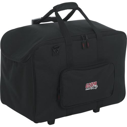 Gator Cases 2212 Wheeled LED PAR Lighting Tote Bag (Black)