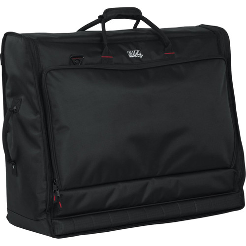 """Gator G-MIXERBAG-2621 - Padded Carry Bag for Large Format Mixers (26 x 21 x 8.5"""")"""