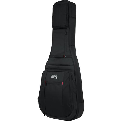 Gator Cases Pro-Go Series Gig Bag with Backpack Straps for 335 / Flying V Guitar