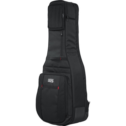 Gator Cases Pro-Go Series Double Guitar Gig Bag for Acoustic and Electric