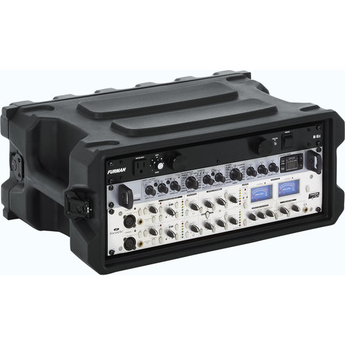 "Gator Cases Pro-Series Roto-Molded Military-Grade Rack Case (13"" Deep, 4 RU)"