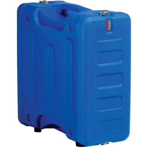 "Gator Cases 4U 19"" Deep Pro-Series Molded Mil-Grade Polyethylene Audio Rack Case (Blue)"