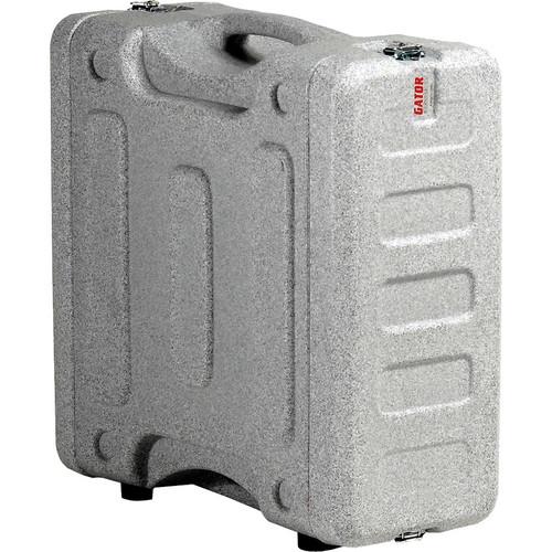 "Gator Cases 4U 19"" Deep Pro-Series Molded Mil-Grade Polyethylene Audio Rack Case (Gray Granite)"
