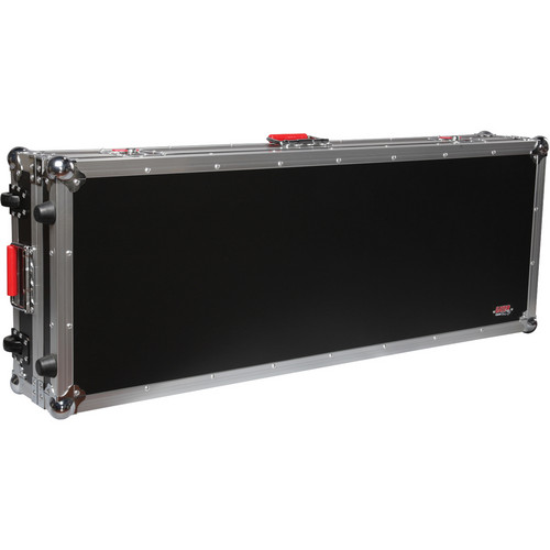 Gator Cases G-Tour ATA Wood Flight Case for 61-Note Slim Keyboards (Black)