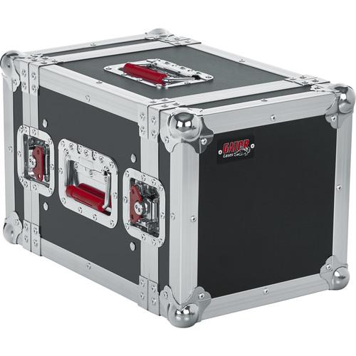 Gator Cases 6U G-Tour-Style ATA Wood Flight Half Rack Case (Black)