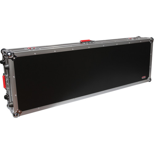 Gator Cases G-Tour ATA Wood Flight Case for 88-Note Slim Keyboards (Black)