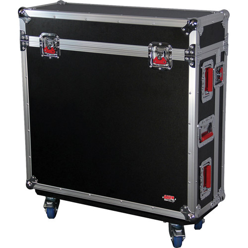 Gator Cases ATA Wood Flight Case for Soundcraft Si-Expression 24 Channel Mixer (Black)