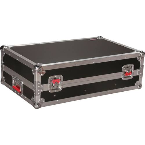 Gator Cases ATA-Tour Style 10U Slant Top Mixer Case with Fixed Rail