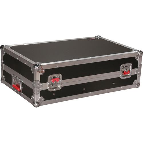 Gator Cases ATA-Tour Style 14U Slant Top Mixer Case with Fixed Rail