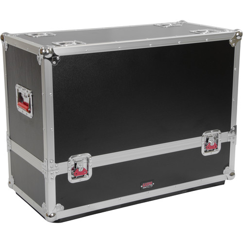 Gator Cases G-TOUR SPKR-2K12 Tour-Style Transporter for Two QSC K12 Speakers (Black)
