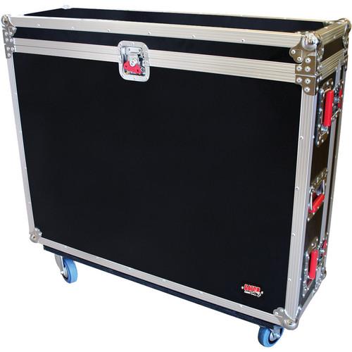 Gator Cases G-Tour ATA Wood Flight Case for PreSonus Behringer X32 Console with Doghouse Design (Black)