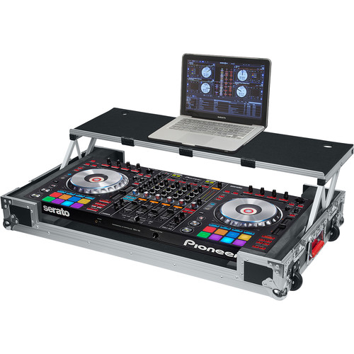 Gator Cases G-Tour Road Case for Pioneer DDJ-RZ/SZ DJ Controller with Sliding Platform