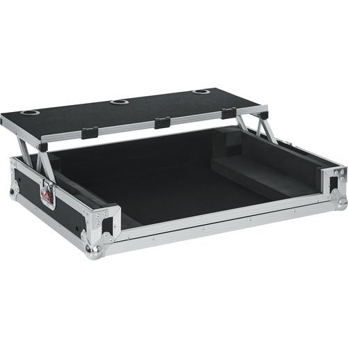 Gator Cases G-TOUR Road Case with Sliding Laptop Platform for Roland DJ-808 Controller