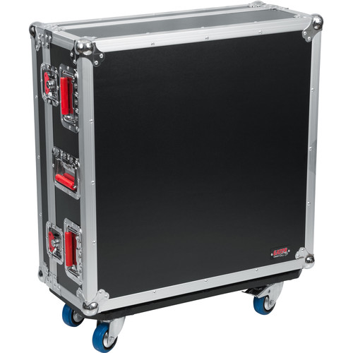 Gator Cases G-TOURQU24 ATA Wood Flight Case for Allen & Heath QU24 Mixing Console with Doghouse Design