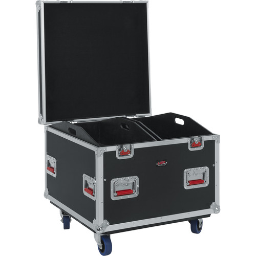 "Gator Cases G-Tour Series 12mm ATA Truck Pack Trunk with Casters and Dividers (30 x 30 x 27"")"