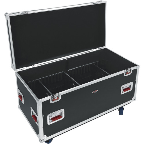 "Gator Cases G-Tour Series 12mm ATA Truck Pack Trunk with Casters and Dividers (45 x 22 x 27"")"