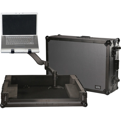 Gator Cases ATA-Wood Large Universal Controller Flight Case with G-ARM-360 Articulating Arm