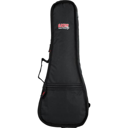 Gator Cases GBE-UKE-CON Soprano Ukulele Gig Bag (Black)