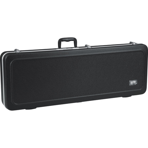 Gator Cases GC-ELECTRIC-LED GC Series Deluxe Molded Case with Built-In LED Light for Electric Guitars (Black)