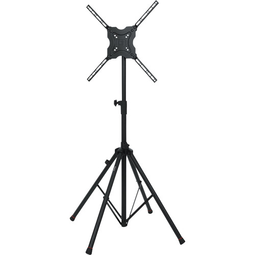 "Gator Cases Standard Quadpod A/V Stand for Displays up to 65"" (Black)"