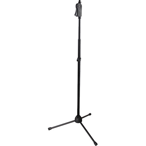 Gator Cases Frameworks Tripod Mic Stand with Deluxe One-Handed Clutch