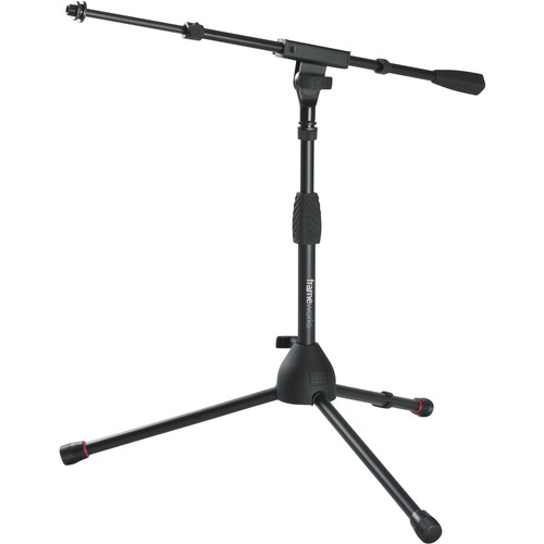 Gator Cases Frameworks Kick Drum / Amplifier Tripod Mic Stand with Telescoping Boom