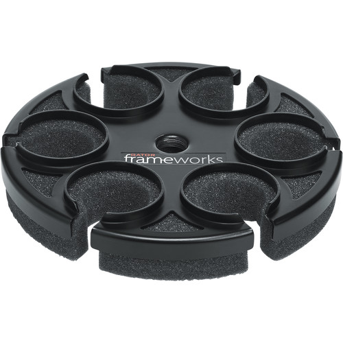 Gator Cases Frameworks Multi Microphone Tray for 6 Mics