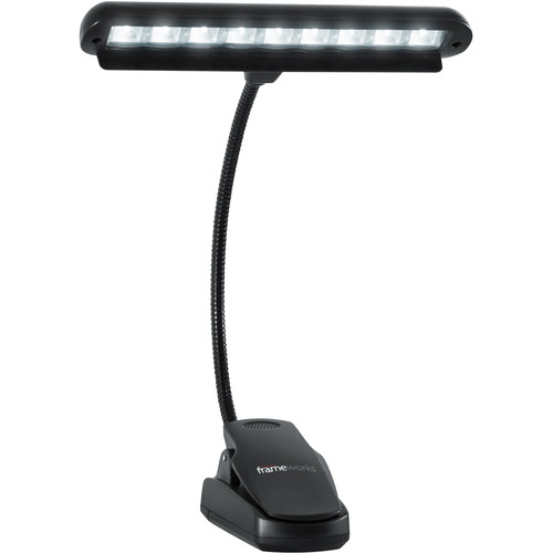 Gator Cases GFW-MUS-LED Clip-On LED Music Lamp with Adjustable Neck