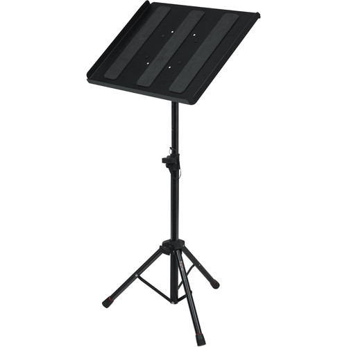 Gator Cases Frameworks Compact Adjustable Media Tray with Tripod Stand
