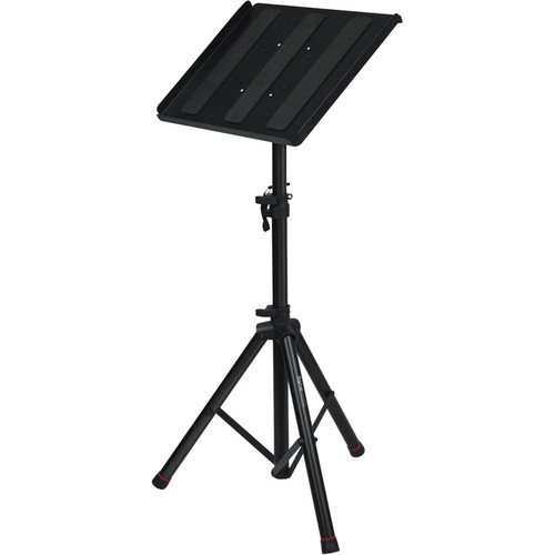 Gator Cases Frameworks Heavy-Duty Adjustable Media Tray with Tripod Stand