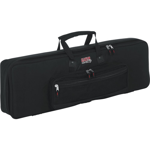 Gator Cases Keyboard Gig Bag for 61-Note Slim Keyboards (Black)