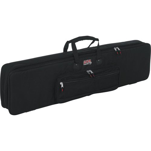 Gator Cases Keyboard Gig Bag for 76-Note Slim Keyboards (Black)