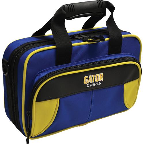 Gator Cases Spirit Series Lightweight Clarinet Case (Yellow and Blue)