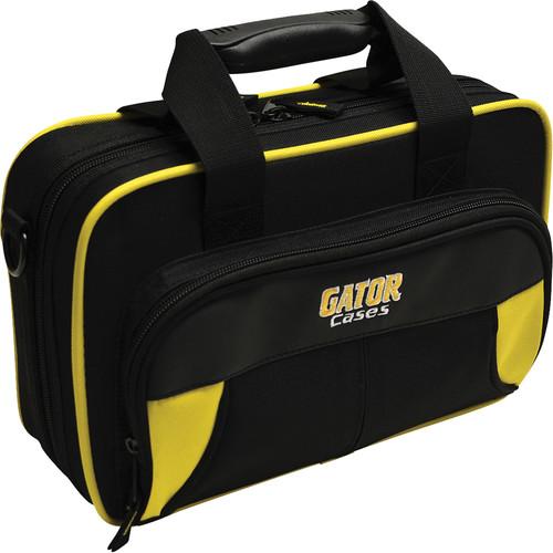 Gator Cases Spirit Series Lightweight Clarinet Case (Yellow and Black)