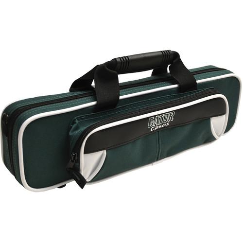 Gator Cases Spirit Series Lightweight Flute Case (White and Green)