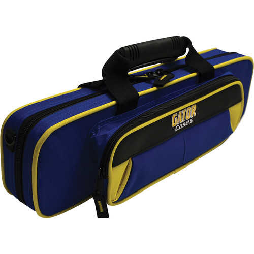 Gator Cases Spirit Series Lightweight Flute Case (Yellow and Blue)