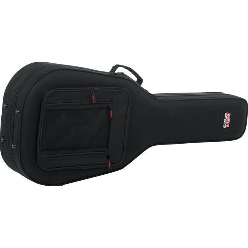 Gator Cases Rigid EPS Foam Lightweight Case for Taylor GS Mini Acoustic Guitars