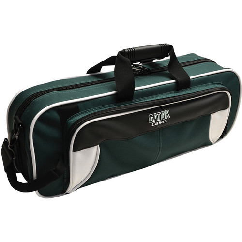Gator Cases Spirit Series Lightweight Trumpet Case (White and Green)