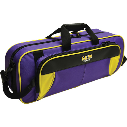 Gator Cases Spirit Series Lightweight Trumpet Case (Yellow and Purple)