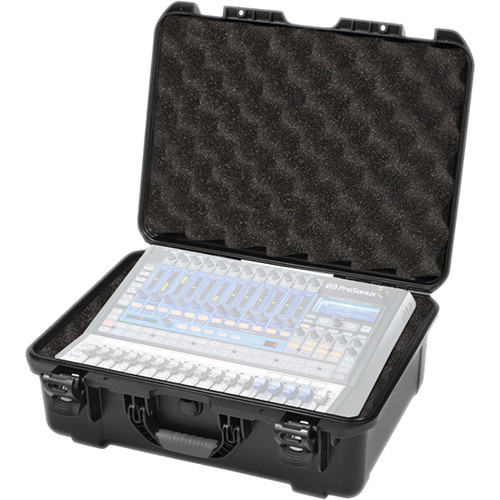 Gator Cases G-MIX Waterproof Injection-Molded Case with Foam Insert for Presonus StudioLive 16.0.2 Mixing Console (Black)