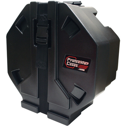 Gator Cases Evolution Series Roto-Molded Snare Drum Case (Black)
