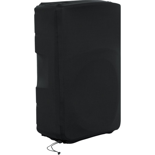 "Gator Cases Stretchy Speaker Cover for Select 15"" Portable Speaker Cabinet (Black)"
