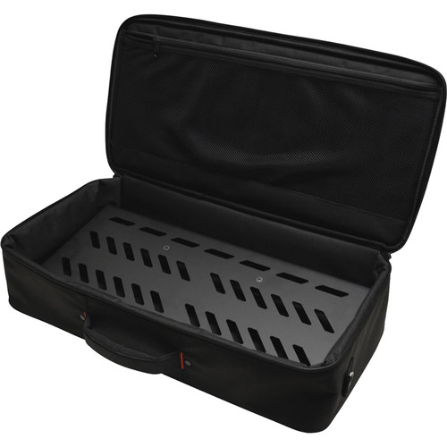 Gator Cases Aluminum Pedalboard with Carry Case (Black, Large)