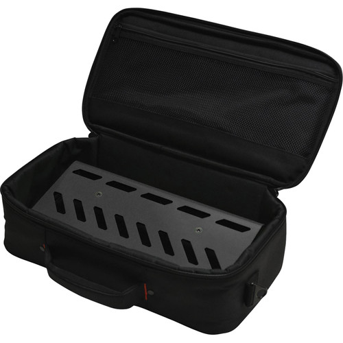 Gator Cases Aluminum Pedalboard with Carry Case (Black, Small)